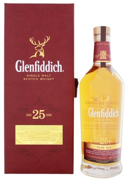Glenfiddich Single Malt Whisky 25 Jahre Rare Oak 0,7L 43%