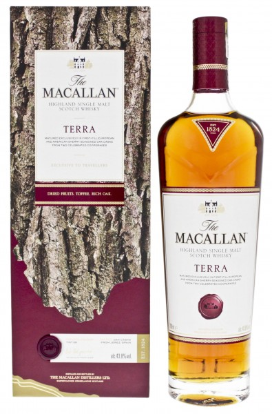 Macallan Highland Single Malt Whisky Terra 0,7L 43,8%