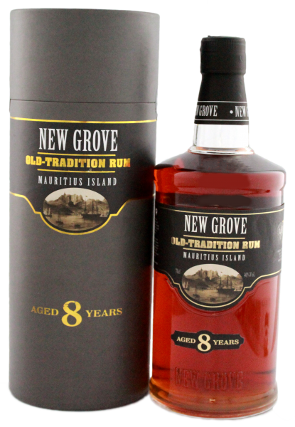 New Grove Old Tradition Rum 8 Jahre 0,7L 40%