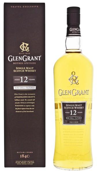Glen Grant Malt Whisky 12 Jahre 1,0L 48%