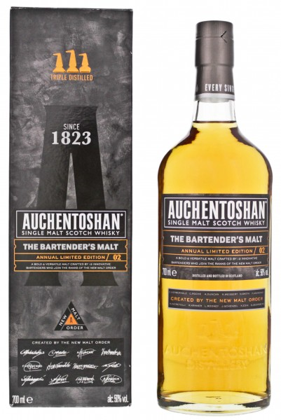Auchentoshan The Bartenders Single Malt Whisky Edition 02 0,7L 50%