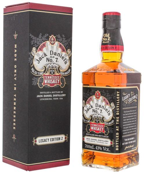 Jack Daniels Old No. 7 Legacy Edition No. 2 0,7L 43%