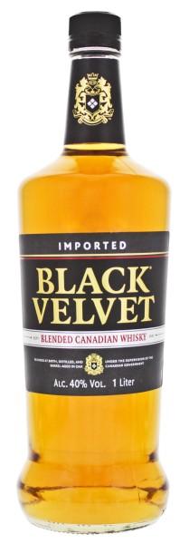 Black Velvet Blended Canadian Whisky 1,0L 40%