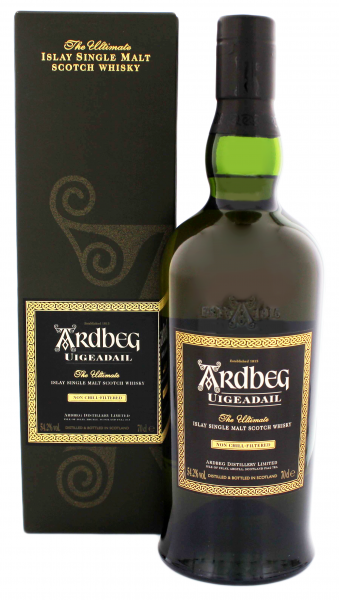 Ardbeg Uigeadail Single Malt Whisky, 0,7 L, 54,2 %