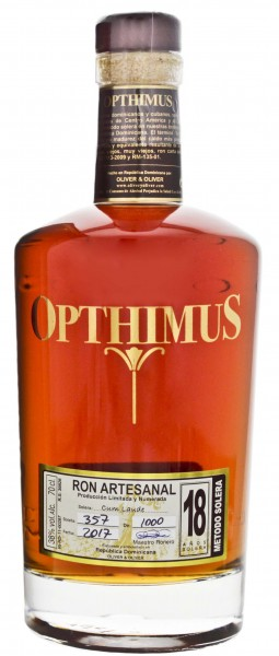 Opthimus Rum 18 Years Old 0,7L 38%