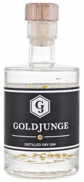 Goldjunge Distilled Dry Gin Miniatur 0,05L 44%