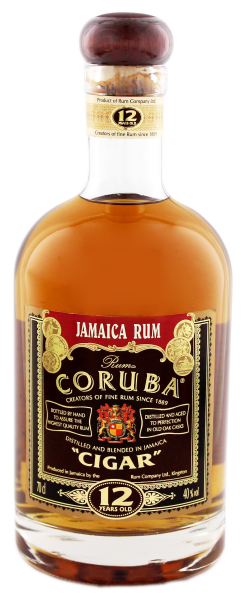 Coruba Cigar Rum 12 Years Old, 0,7 L, 40%