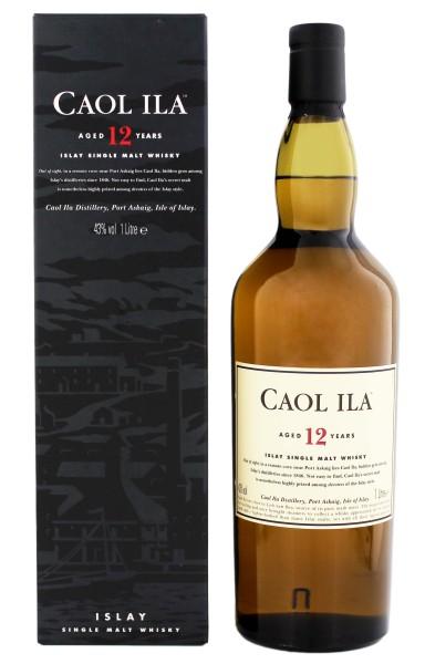 Caol Ila Single Malt Whisky 12 Years Old, 1 L, 43%