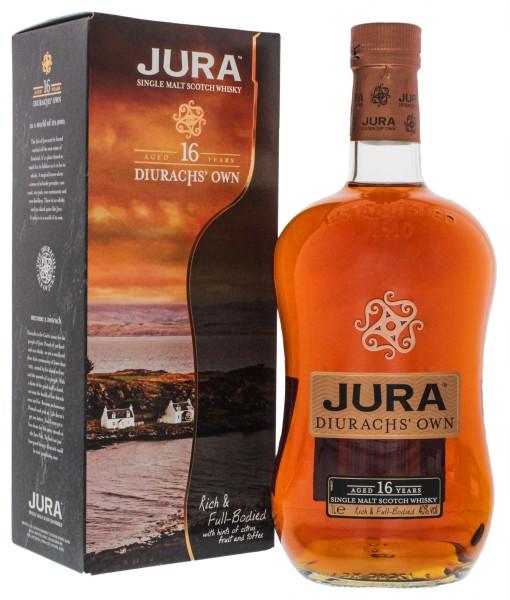 Isle of Jura Single Malt Whisky 16 Years Old 1,0L 40%