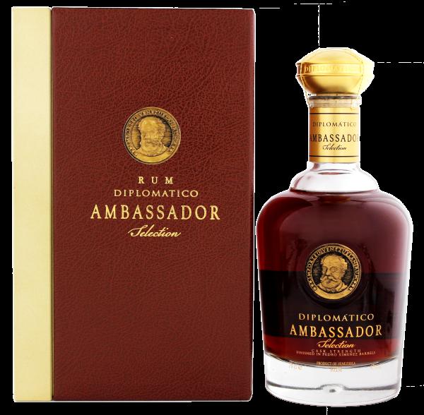 Diplomatico Ambassador Rum, 0,7 L, 47%