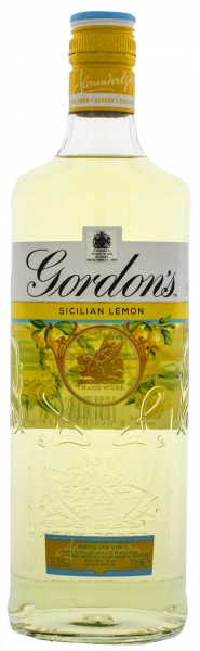 Gordons Sicilian Lemon Gin 0,7L 37,5%