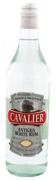 Cavalier White Rum, 1,0L 40%