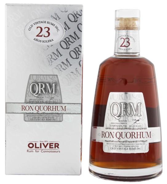 Quorhum Rum 23 Years Old 0,7L 40%