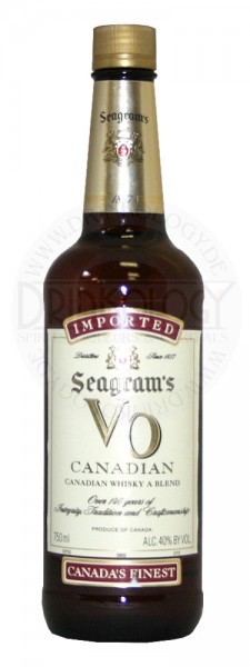 Seagrams VO Canadian Whisky 1,0L 40%