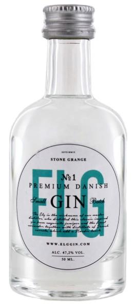 Elg Gin No.1 Miniatur, 0,05L 47,2%