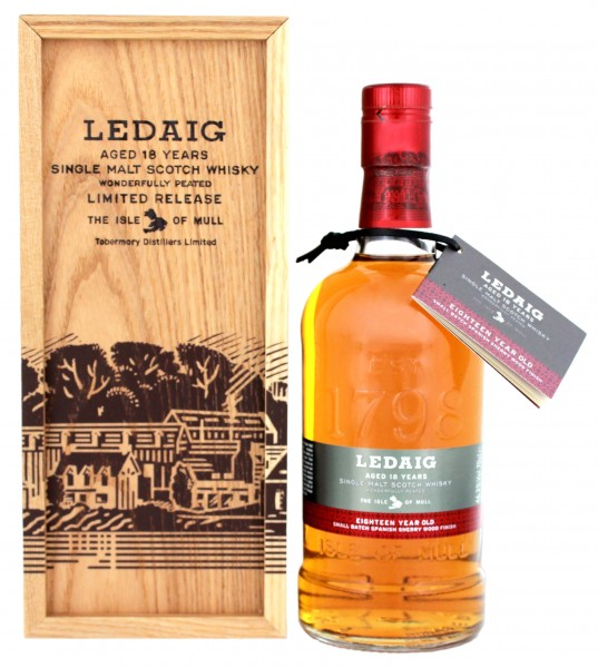 Ledaig Single Malt Whisky 18 Jahre 0,7L 46,3%
