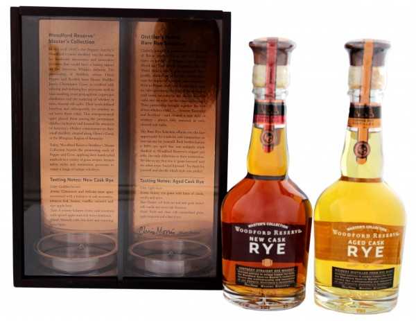 Woodford Reserve Rare Rye Master Collection 2x0,35 L