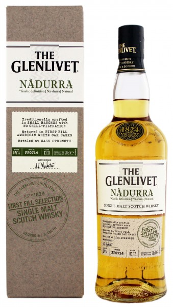 The Glenlivet Nadurra First Fill American Oak, 0,7
