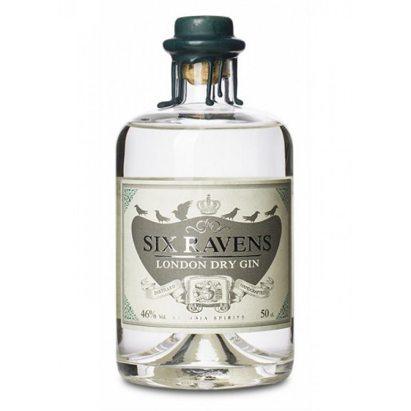 Six Ravens London Dry Gin 0,5L 46%