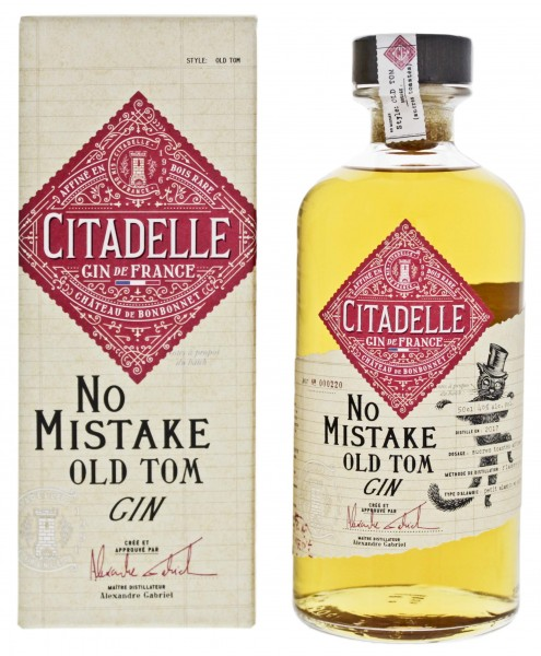 Citadelle Extremes No 1 No Mistake Old Tom Gin 0,5L 46%
