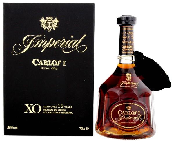 Carlos I Imperial Brandy, 0,7 L, 38%
