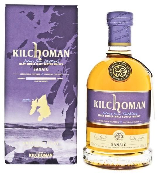 Kilchoman Sanaig Single Malt Whisky Non Chill Filtered 0,7L 46%
