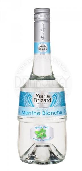 Marie Brizard Creme de Menthe Blanc Liqueur, 0,7 L, 23%