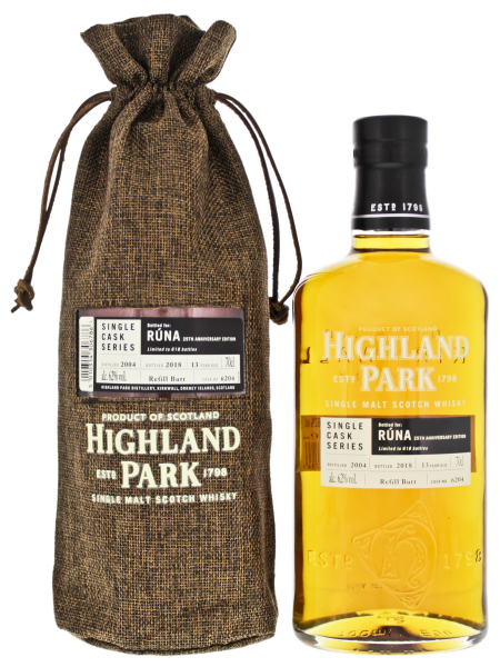 Highland Park Single Malt Whisky 'RUNA' Vintage 2004/2018 0,7L 62%