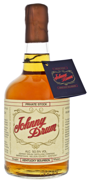 Johnny Drum Bourbon Whiskey Private Stock, 0,7 L, 50,5%