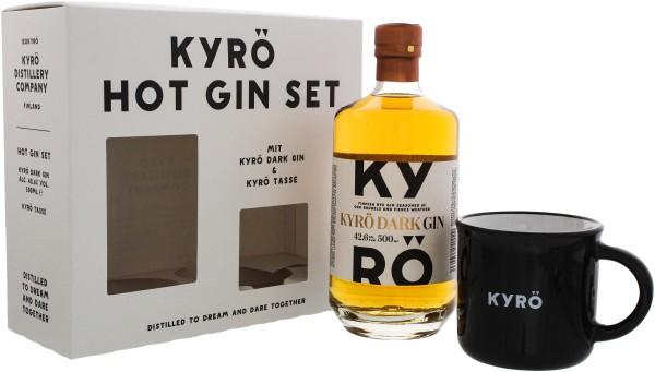 Kyrö Dark Gin 0,5L 42,6% Hot Gin Set inkl. Cup
