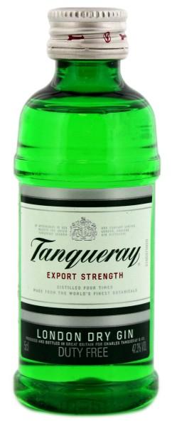 Tanqueray Dry Gin Miniatur 0,05L 47,3%