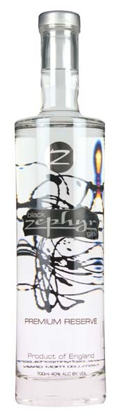 Zephyr Black Gin, 0,7L, 40%