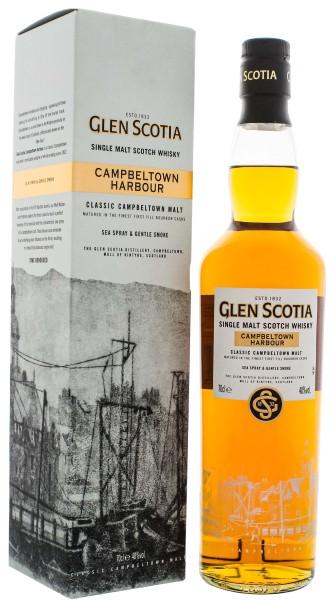 Glen Scotia Single Malt Whisky Campbeltown Harbour 0,7L 40%