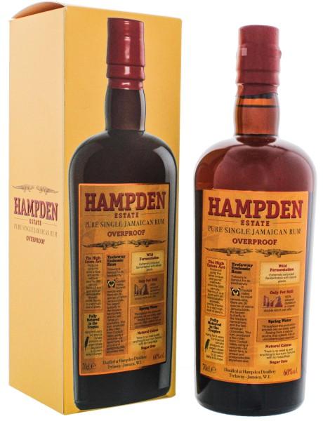 Hampden Estate Overproof Pure Single Jamaican Rum 0,7L 60%