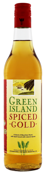 Green Island Spiced Gold 0,7 L 37,5%