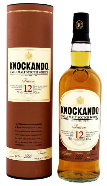 Knockando Single Malt Whisky 12 Jahre Bottled 2000