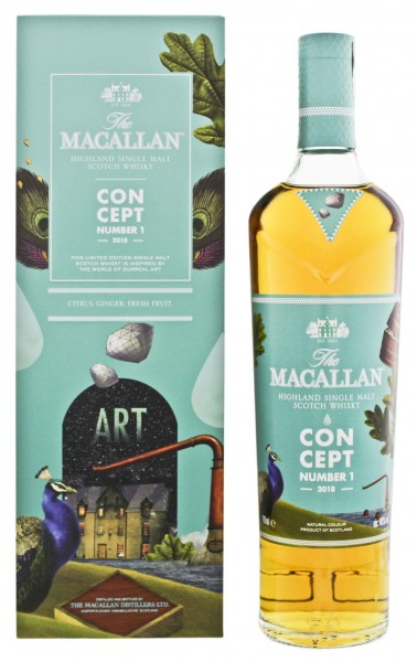 Macallan Single Malt Whisky Concept Number 1 2018 0,7L 40%