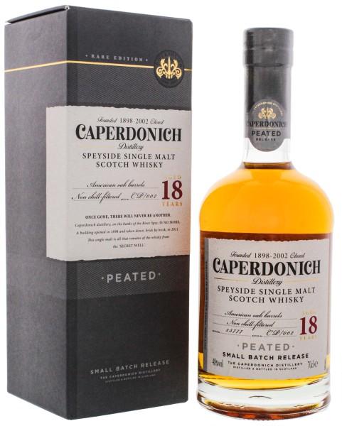 Caperdonich Speyside Single Malt Whisky 18 Jahre 0,7L 48%