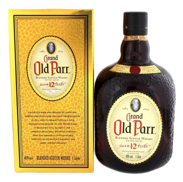 Old Parr Blended Scotch Whisky 12YO 1,0L, 40%