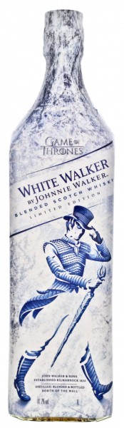 Johnnie Walker The White Walker Blended Whisky 1,0L 41,7%