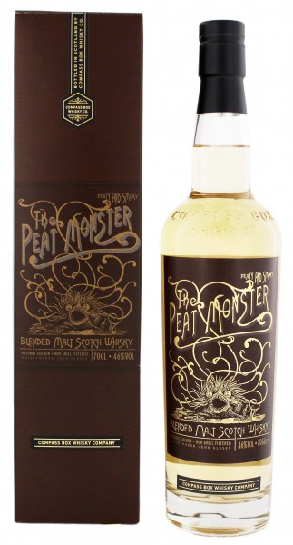 Compass Box The Peat Monster Blended Scotch Whisky, 0,7 L, 46%
