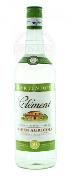 Clement Rhum Agricole Blanc 50% Vol.