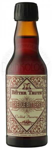 The Bitter Truth Creole Bitters, 0,2 L, 39%