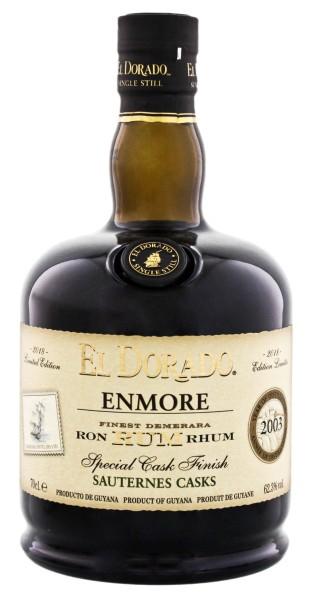 El Dorado Rum Enmore Sauternes Special Cask Finish 2003 Limited Edition 2018 0,7L 62,3%