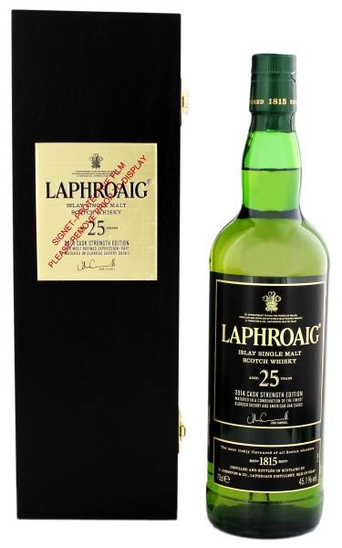 Laphroaig 25 Jahre 2014 Cask Strength
