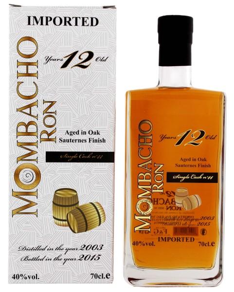 Mombacho Rum 12 Jahre Sauternes Finish 0,7L 40%