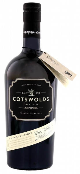 Cotswolds Dry Gin 0,7 Ltr 46%