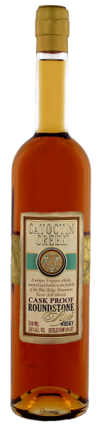 Catoctin Creek Roundstone Rye Cask Proof Whisky, 0,7L 58%