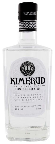 Kimerud Norway Craft Distilled Gin, 0,7L 43%