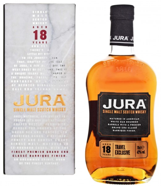 Isle of Jura 18 Jahre Travel Exclusive 0,7L 42%